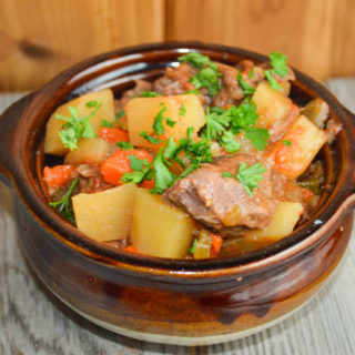 Mom's Crock Pot Beef Stew