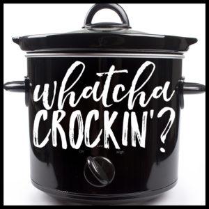 Whatcha Crockin Logo Week 58