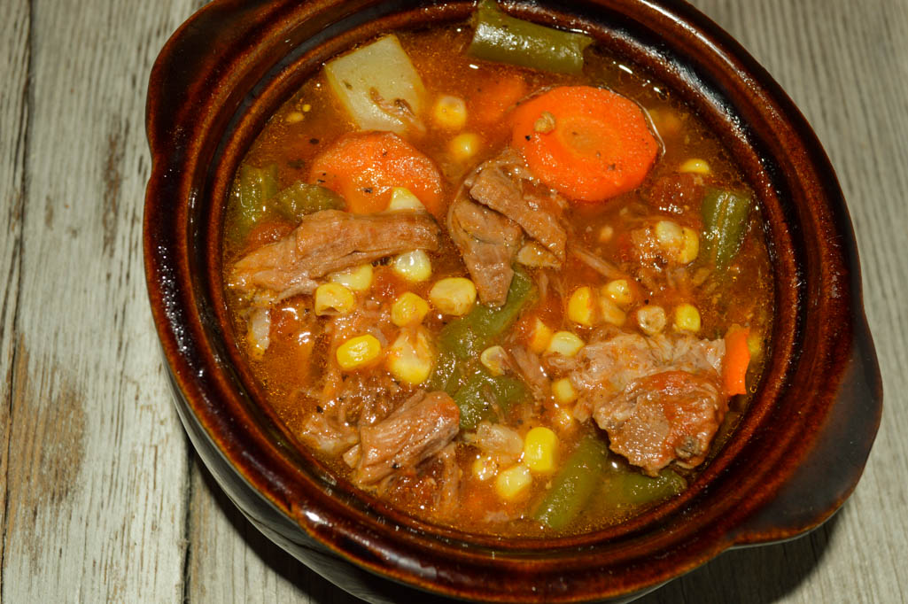 Beef Vegetable Soup Something Special Using Up Leftovers Is Difficult But Taking Pot Roast And Potatoes And Adding Extra Vegetables Makes
