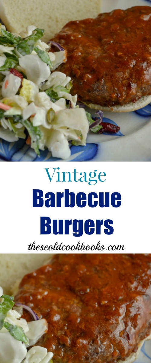 Vintage Barbecue BurgersThese Vintage Barbecue Burgers are full of flavor and a snap to pull together when you are looking for an easy sandwich option.