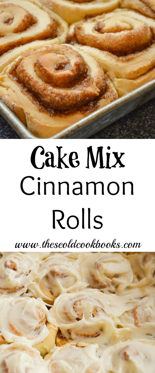 Cinnamon Roll Cupcakes With Cake Mix