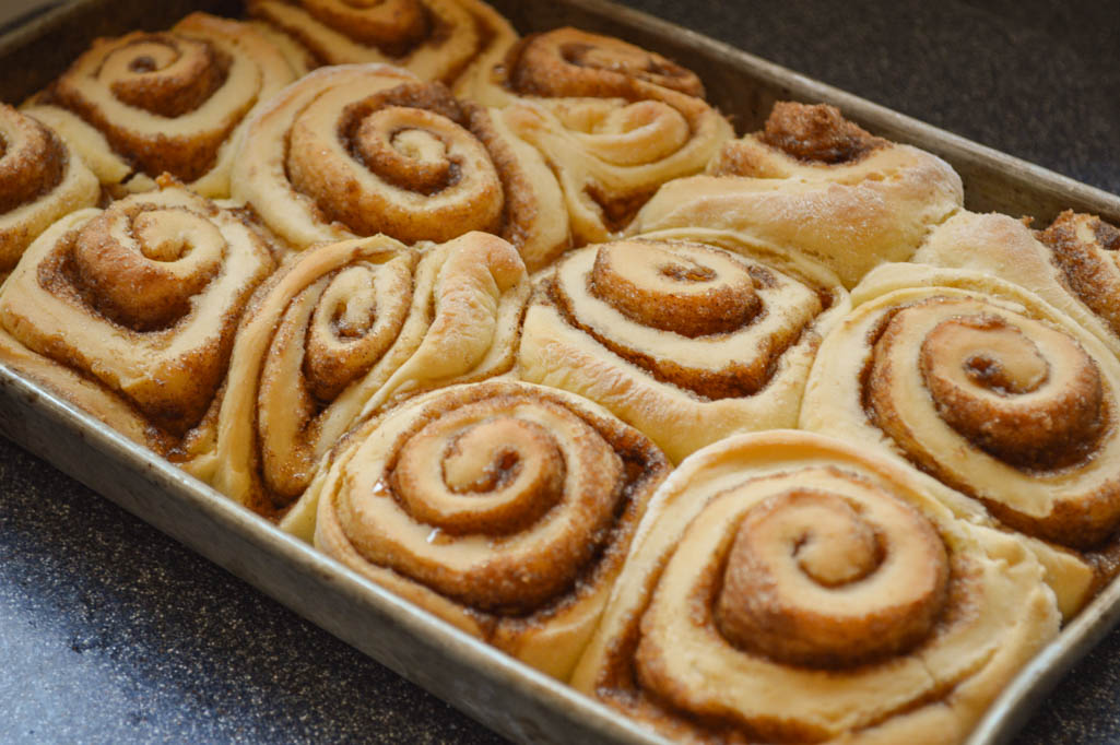 Cinnamon Rolls Made With Cake Mix Recipe
