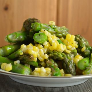 Quick Asparagus Corn Salad
