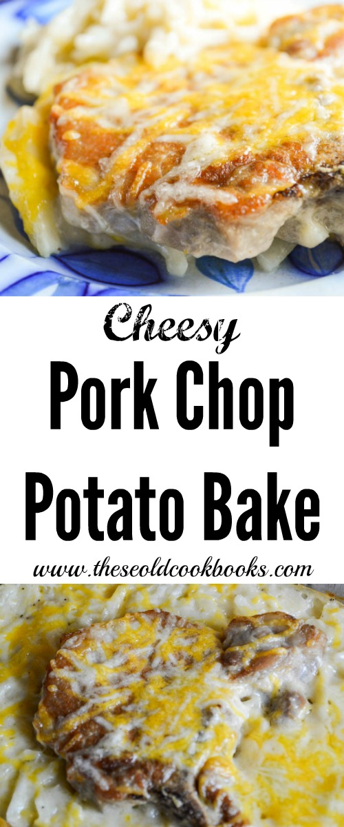 Cheesy Pork Chop Potato Bake Recipe Using Frozen Hashbrowns