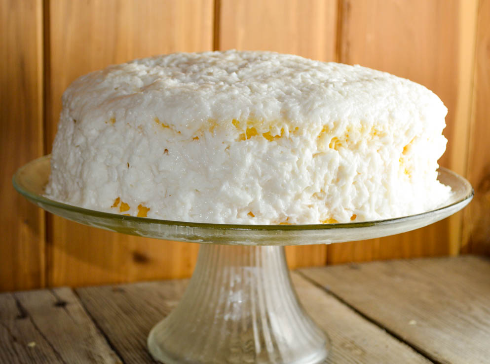 Coconut Cake Whipped Topping Icing