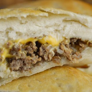 Cheeseburger Turnovers