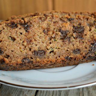 Moist Chocolate Chip Zucchini Bread