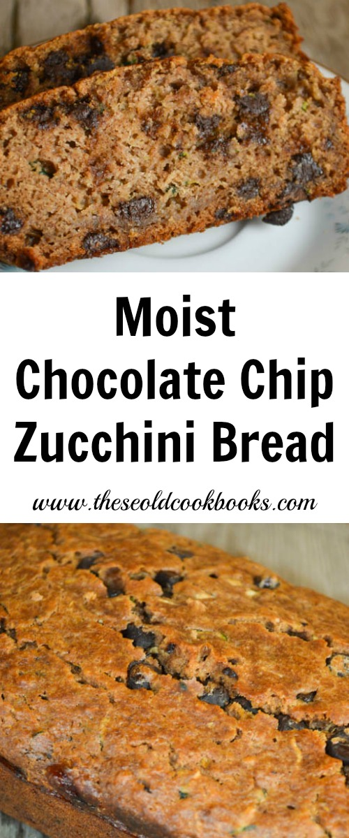 Chocolate Cake Mix Zucchini Bread