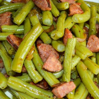 Old Fashioned Green Beans with Andouille Sausage