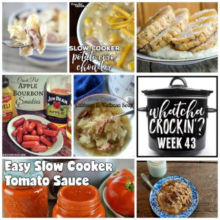 Crock Pot Beef and Noodles – WCW – Week 43