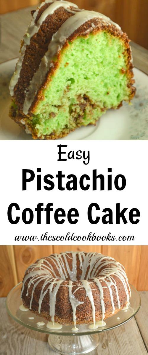 Pistachio Bread With Cake Mix