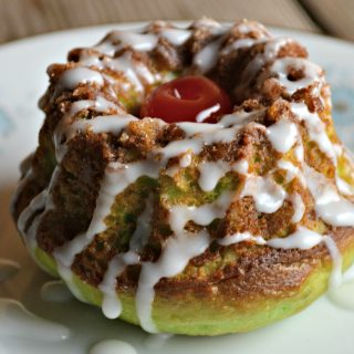 Grinch's Mini Pistachio Coffee Cakes
