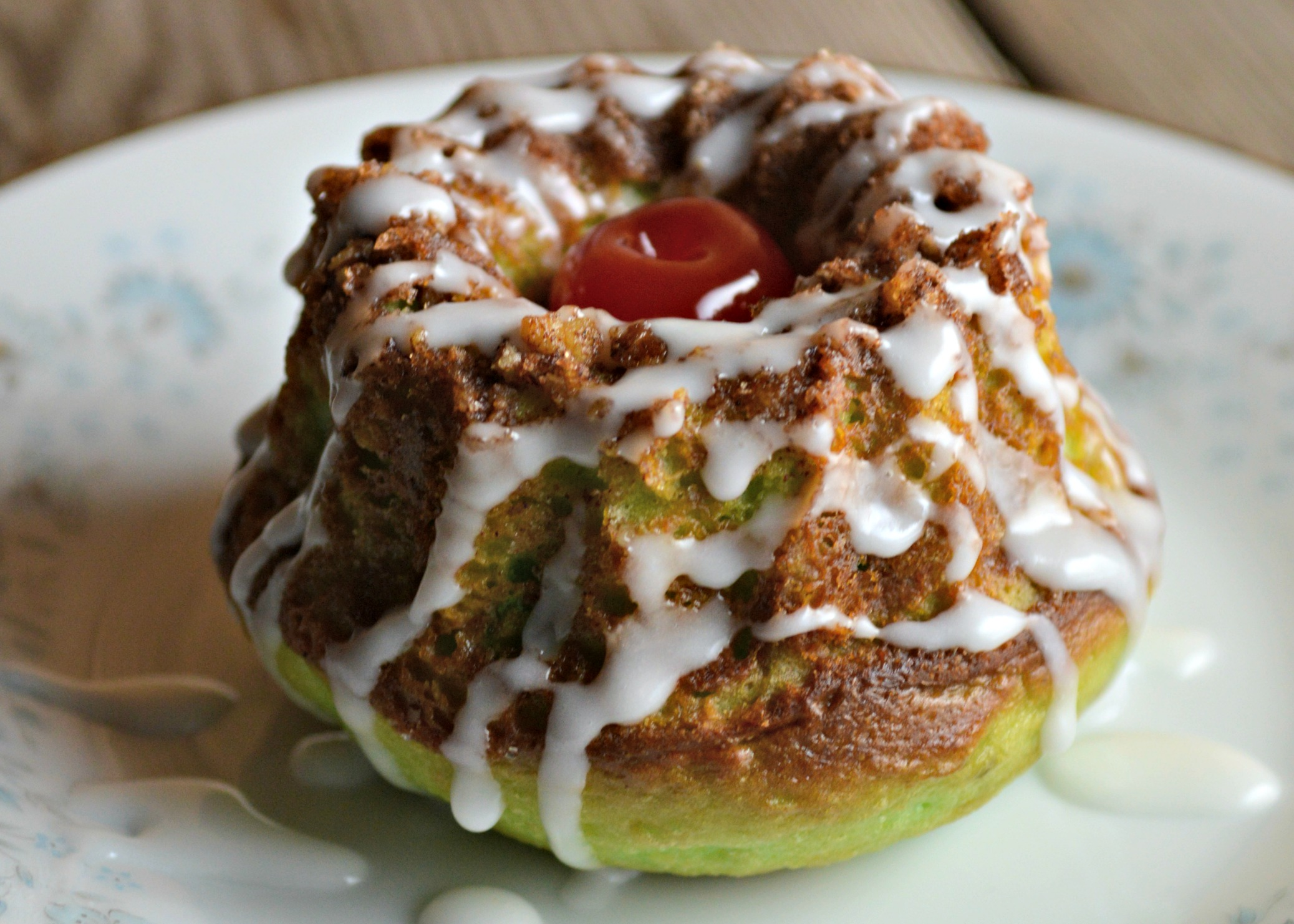 Mini Pistachio Coffee Cakes