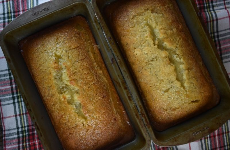 Mom's Poppy Seed Bread is one of those quick breads that is perfect for breakfast, dessert or as an afternoon snack with a hot cup of coffee.