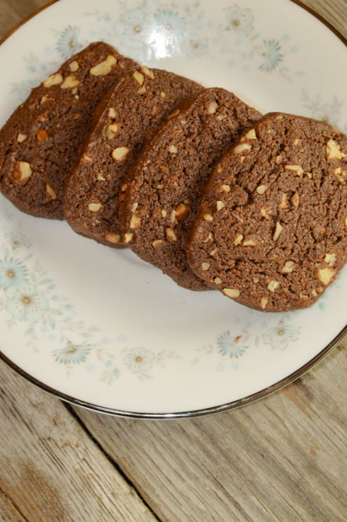 These Chocolate Nut Cookies are easy to make and perfect served with a cold glass of milk or a hot cup of coffee.