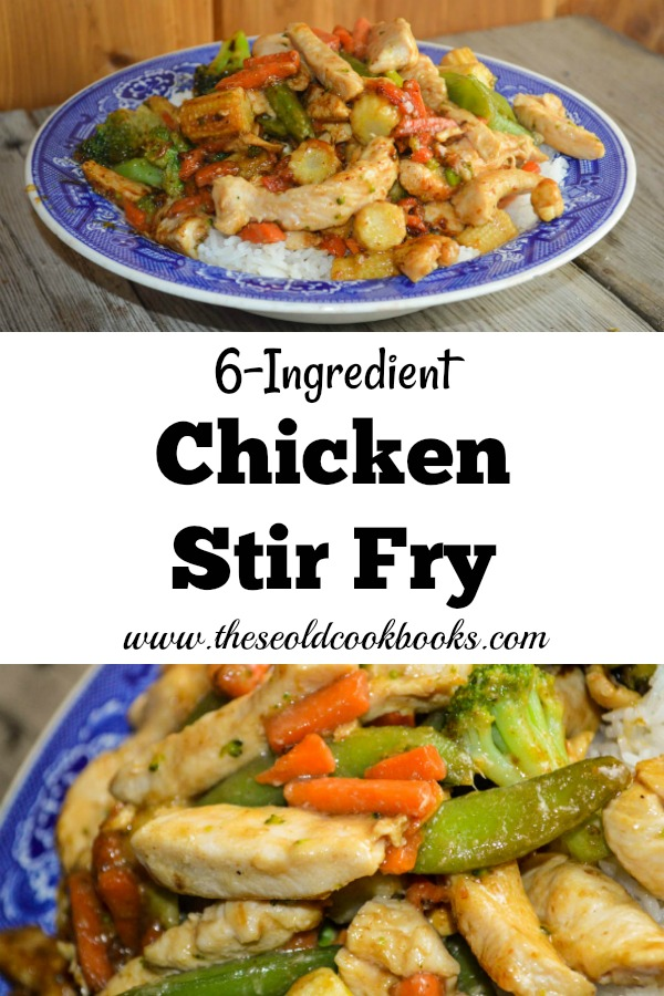 When you need a quick and kid-friendly meal, this 6-Ingredient Chicken Stir Fry is a great option. This recipe uses simple ingredients, including a surprising one - Miracle Whip.