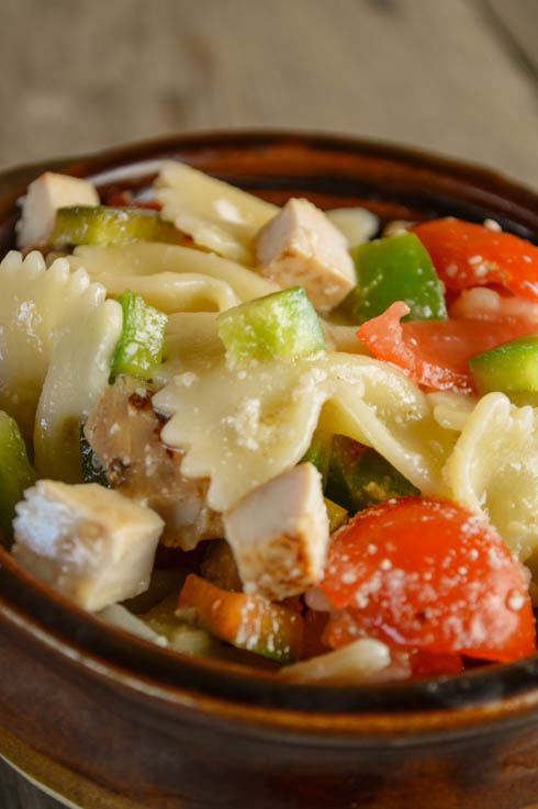 Chicken Bow Tie Pasta Salad Recipe Is Easy To Multiply For Crowds And Customize For Your Taste