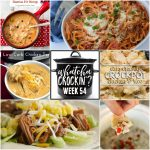 Slow Cooker Chicken Enchilada Soup – WCW – Week 54