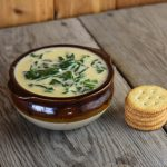 Bavarian Spinach Beer Cheese Soup