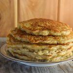 Prep Ahead Old-Fashioned Oatmeal Pancakes