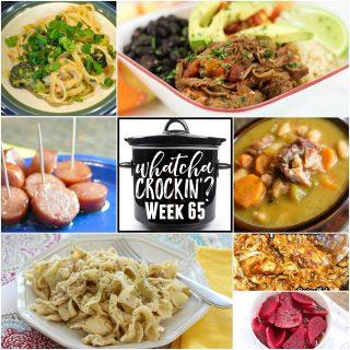 Crock Pot Chicken and Noodles – WCW – Week 65