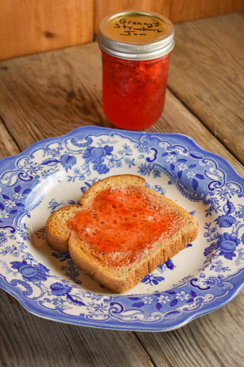 Our Grandma's Strawberry Freezer Jam is perfect for those fresh strawberries we all enjoy during the summer months.