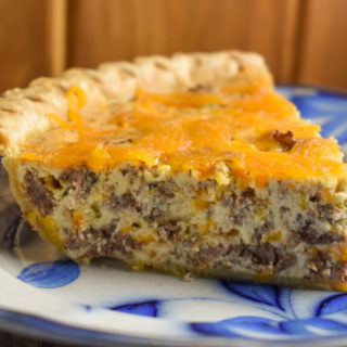 Cheeseburger Quiche is a great recipe for lunch, dinner or brunch.