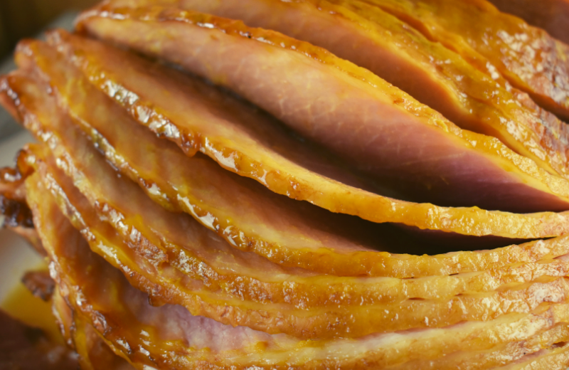 Brown Sugar Crock Pot Spiral Sliced Ham will be your families new favorite way to prepare a holiday ham. The best part of this family-pleasing recipe is that it only has 3 ingredients---spiral ham, brown sugar and yellow mustard.