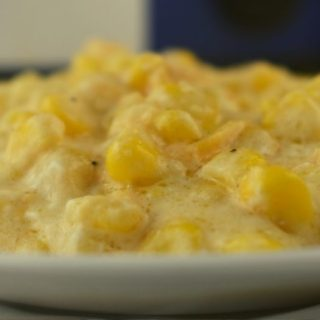 Crock Pot Cheesy Creamed Corn is a dump and go slow cooker recipe that feeds a crowd and has them begging for more. It's cheesy and creamy just as the title implies.