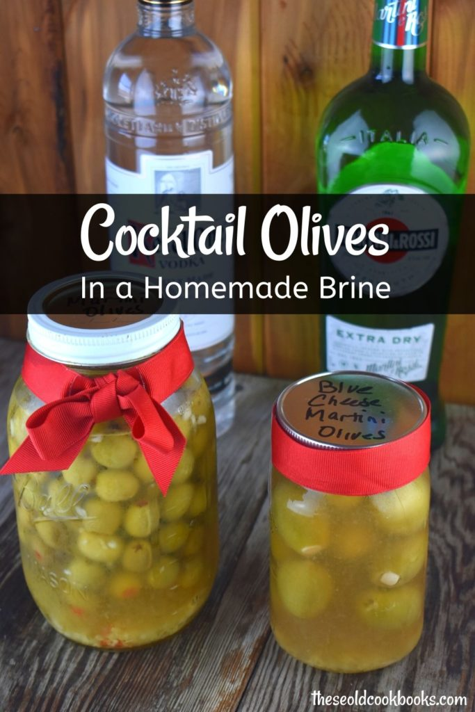Once you start making these Homemade Martini Olives, there's no stopping. Whether you're having a party with friends or making a party appetizer, these cocktail olives are a tasty treat. Plus, they make the perfect gift for any martini enthusiast.
