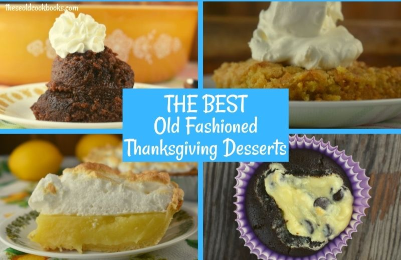 Our favorite Thanksgiving dessert recipes range from pies to cupcakes to cakes.
