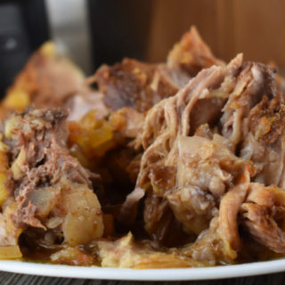 Crock Pot Tropical Pork Roast is a simple Hawaiian spin on tender, flavorful shredded pork. Use your slow cooker to conquer this Pork Roast with Pineapple, and serve over rice or as a sweet pulled pork sandwich.